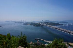 四国瀬戸大橋の写真
